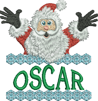 Surprise Santa Name - Oscar