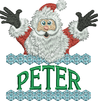 Surprise Santa Name - Peter