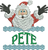 Surprise Santa Name - Pete