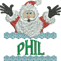 Surprise Santa Name - Phil