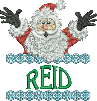 Surprise Santa Name - Reid