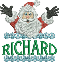 Surprise Santa Name - Richard