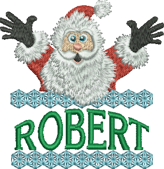 Surprise Santa Name - Robert