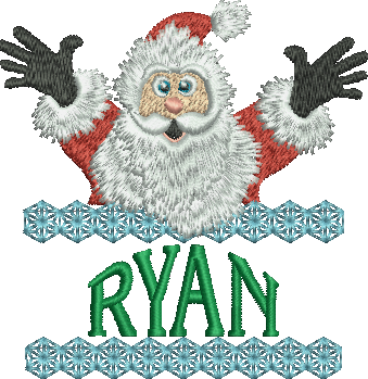 Surprise Santa Name - Ryan