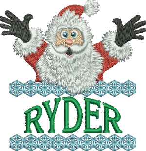Surprise Santa Name - Ryder