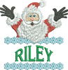 Surprise Santa Name - Riley