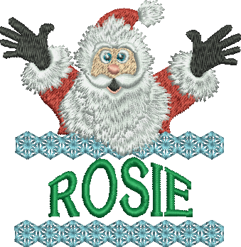Surprise Santa Name - Rosie