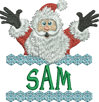 Surprise Santa Name - Sam
