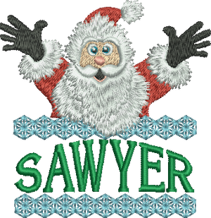Surprise Santa Name - Sawyer
