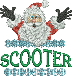 Surprise Santa Name - Scooter