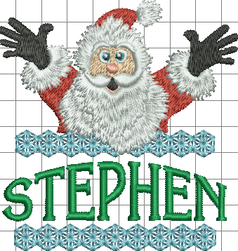 Surprise Santa Name - Stephen
