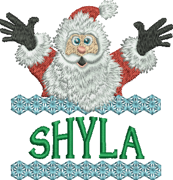 Surprise Santa Name - Shyla