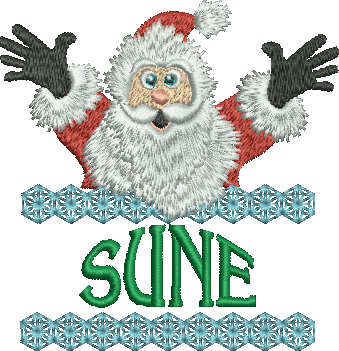 Surprise Santa Name - Sune