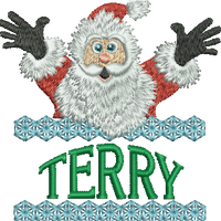 Surprise Santa Name - Terry