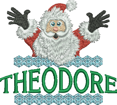 Surprise Santa Name - Theodore