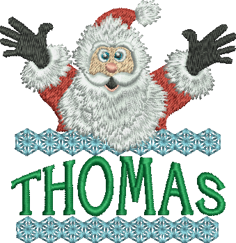 Surprise Santa Name - Thomas