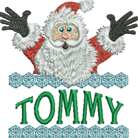 Surprise Santa Name - Tommy