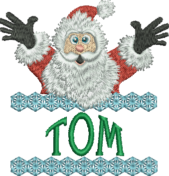 Surprise Santa Name - Tom