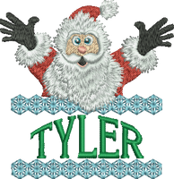 Surprise Santa Name - Tyler