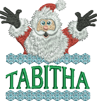 Surprise Santa Name - Tabitha