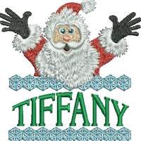 Surprise Santa Name - Tiffany