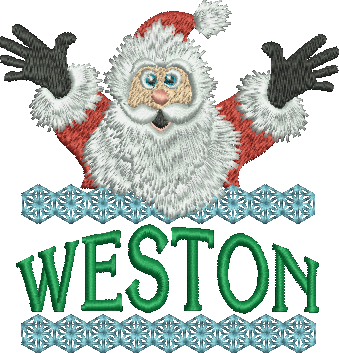 Surprise Santa Name - Weston