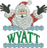 Surprise Santa Name - Wyatt