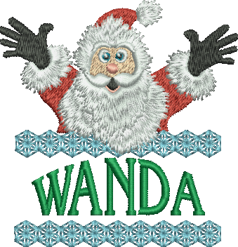 Surprise Santa Name - Wanda