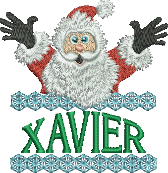 Surprise Santa Name - Xavier