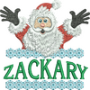 Surprise Santa Name - Zackary