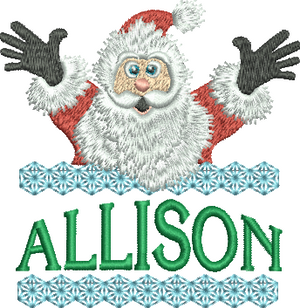 Surprise Santa Name - Allison