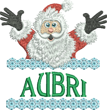 Surprise Santa Name - Aubri