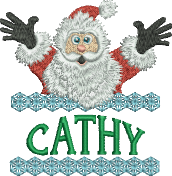 Surprise Santa Name - Cathy
