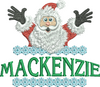 Surprise Santa Name - Mackenzie