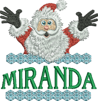 Surprise Santa Name - Miranda
