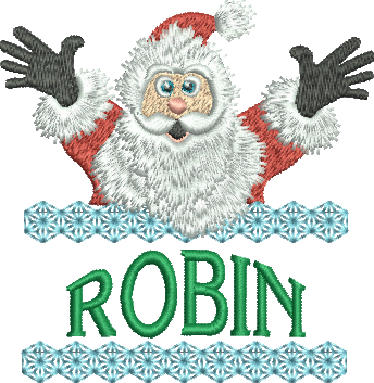Surprise Santa Name - Robin