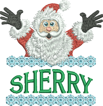 Surprise Santa Name - Sherry