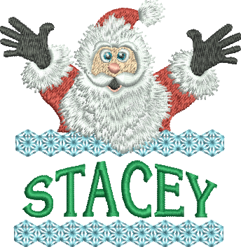 Surprise Santa Name - Stacey