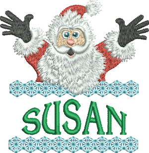 Surprise Santa Name - Susan