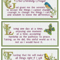 The Serenity Prayer 6x10 Wall Hanging