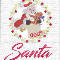 To Believe In Santa 8x12 Wall Hanging