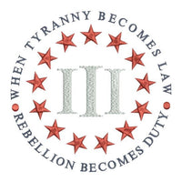 Tyranny & Three Percenter 6x6