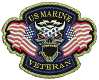 US Marine Veteran Patch