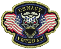 US Navy Veteran Patch