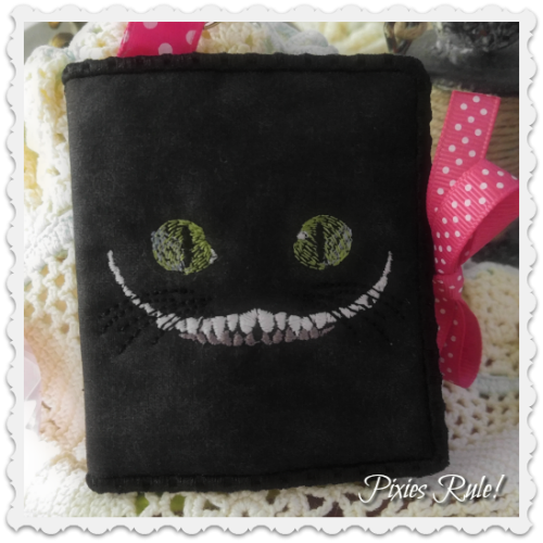 We're All Mad Here Sticky Note Notepad Cover