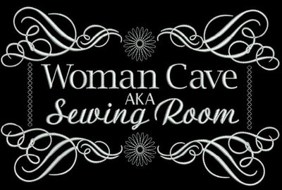 Woman Cave 7x14