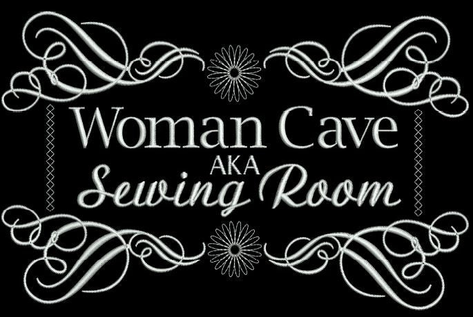 Woman Cave 5x7