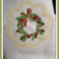 Tea Towel Wreath
