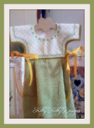 Yellow Joy Oven Dress 5x7