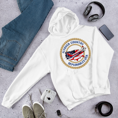 Flyover Country Hoodie-Light